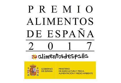 Convocado el «Premio Alimentos de España 2017»