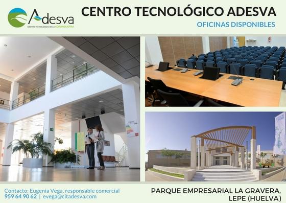 Oficinas disponibles en las instalaciones del Centro Tecnológico Adesva